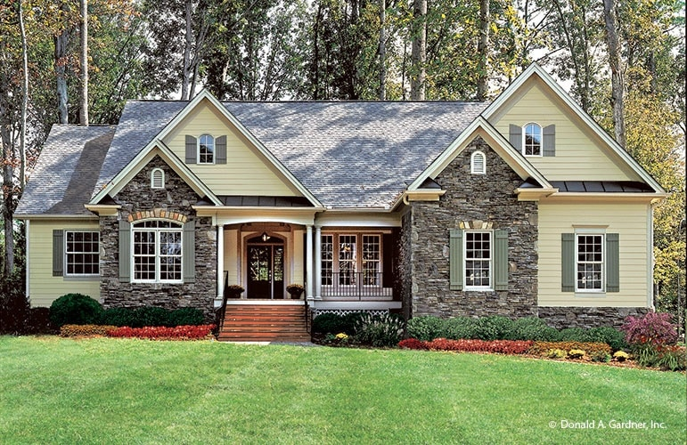The Satchwell by Don Gardner Home Plans